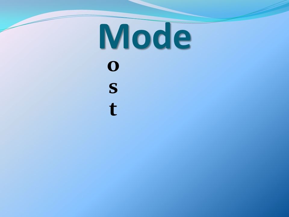Mode o s t