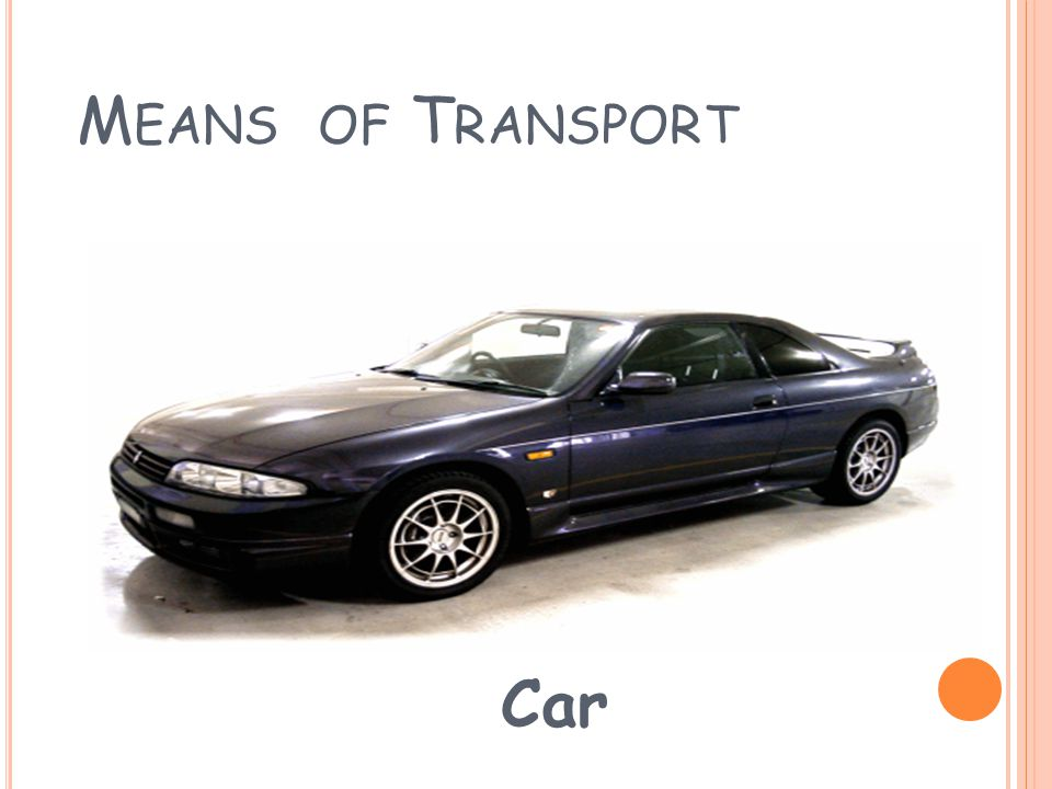 M EANS OF T RANSPORT Lorry
