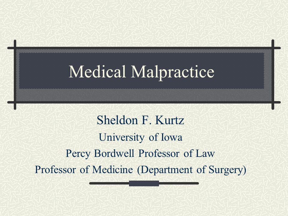 Statute of Limitations Date of occurrence Date of discovery Continuous treatment doctrine