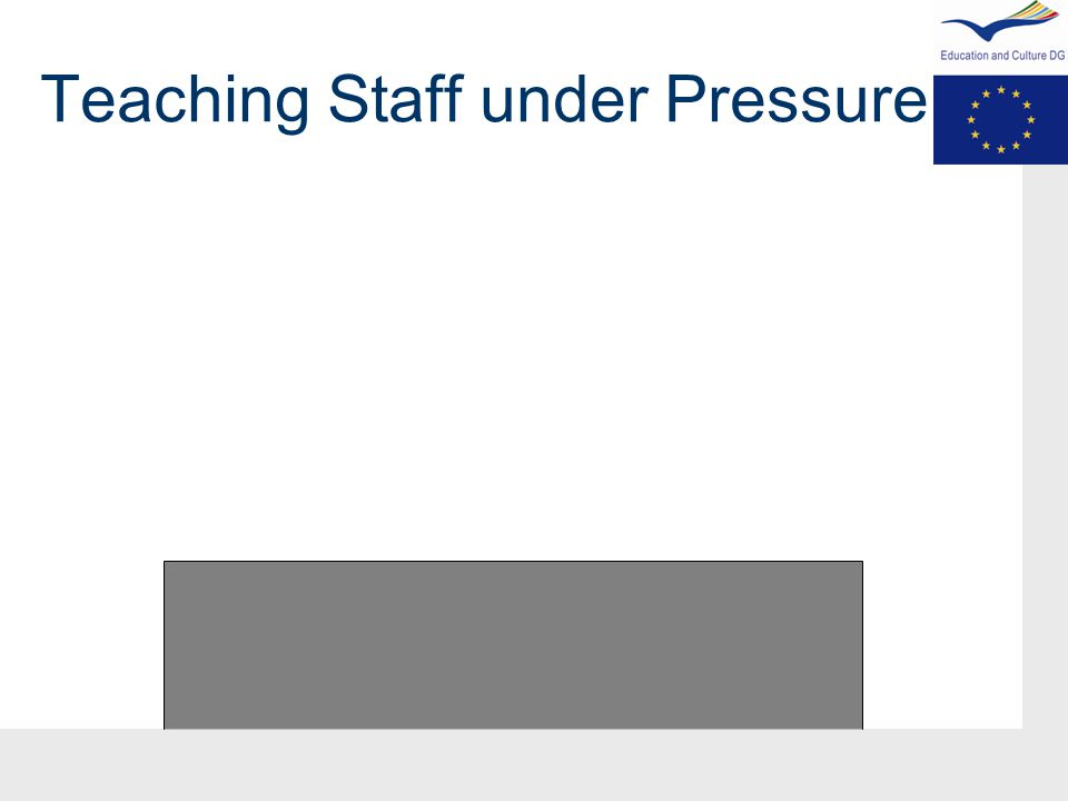 Teaching Staff under Pressure