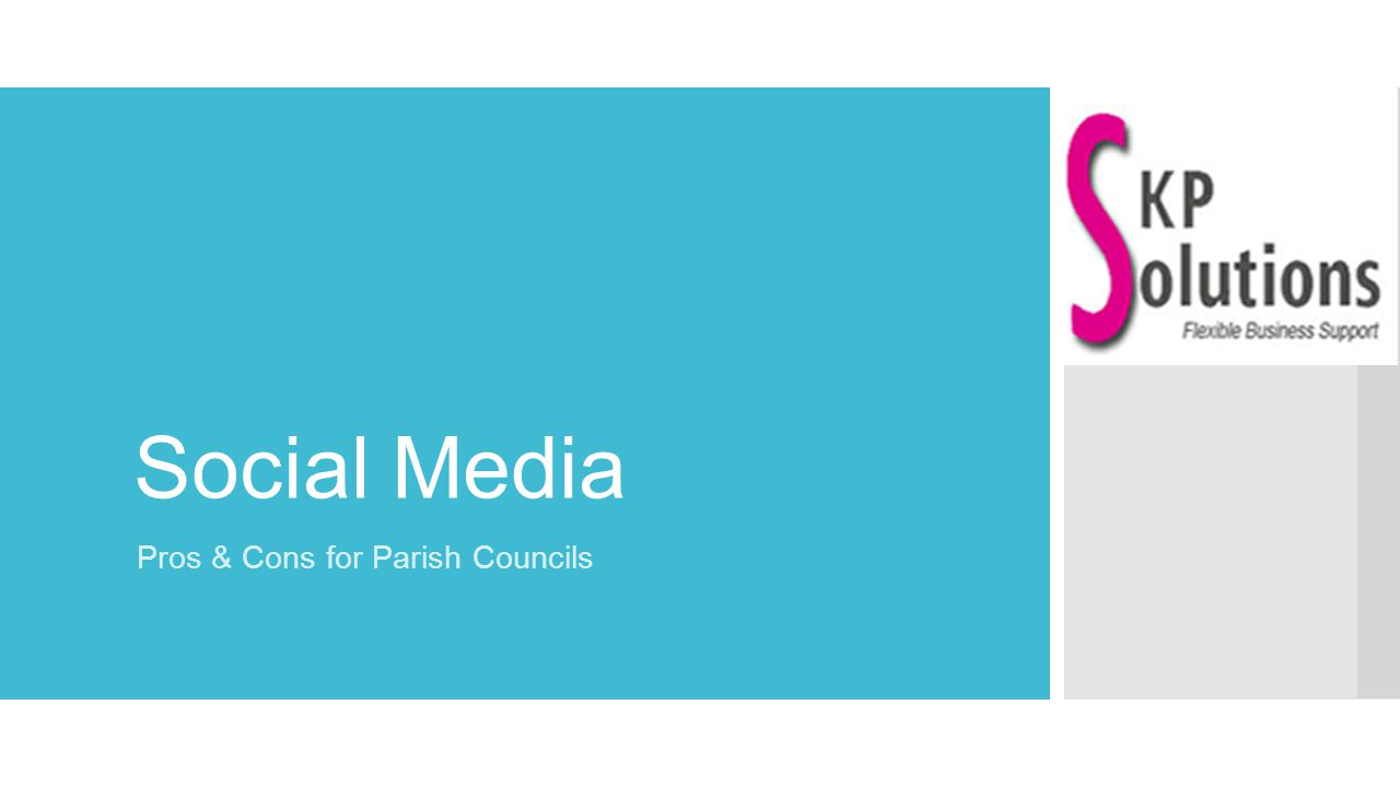 What we'll be covering… ➔ What is 'social media'.➔ Tuning in – what are the channels.