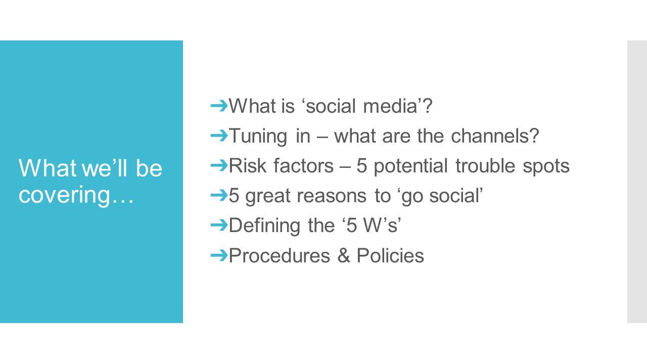 What is 'Social Media'?