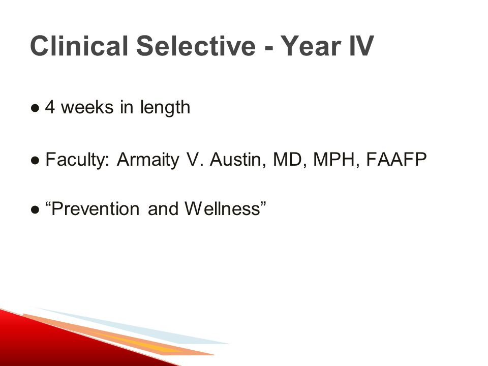 ●4 weeks in length ●Faculty: Armaity V.
