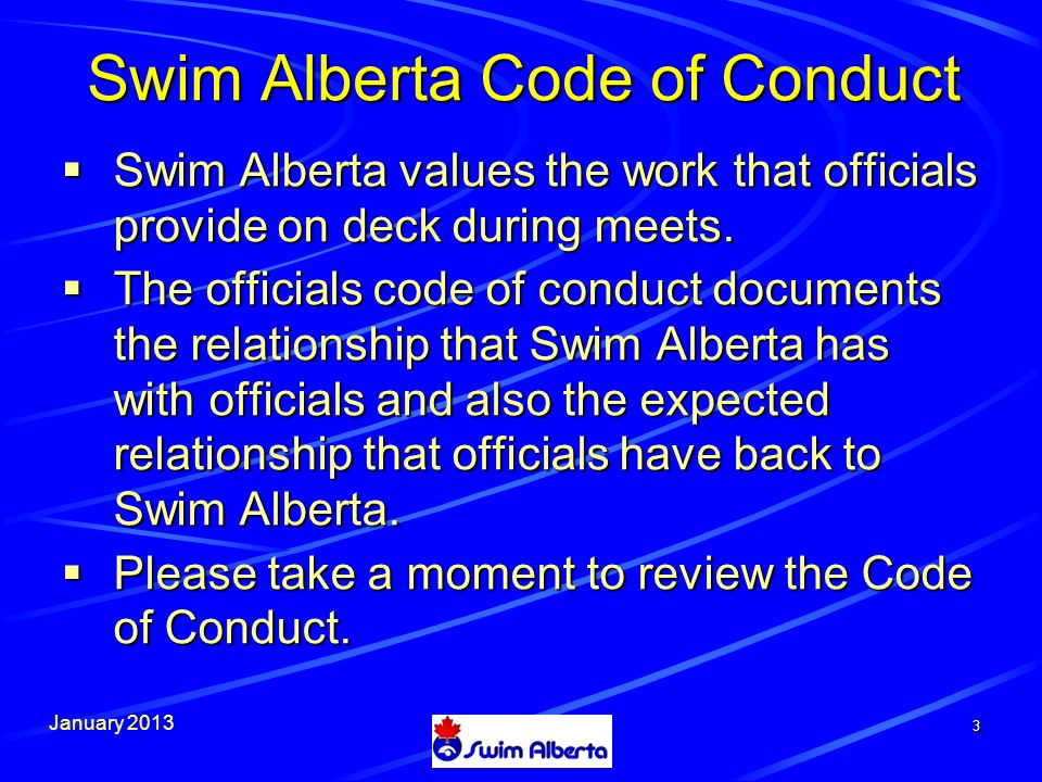 January 2013 34 Make certain you have current email addresses of swim clubs you intend to invite.