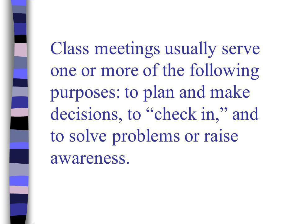  Do you really want student input.Have you made a decision already.