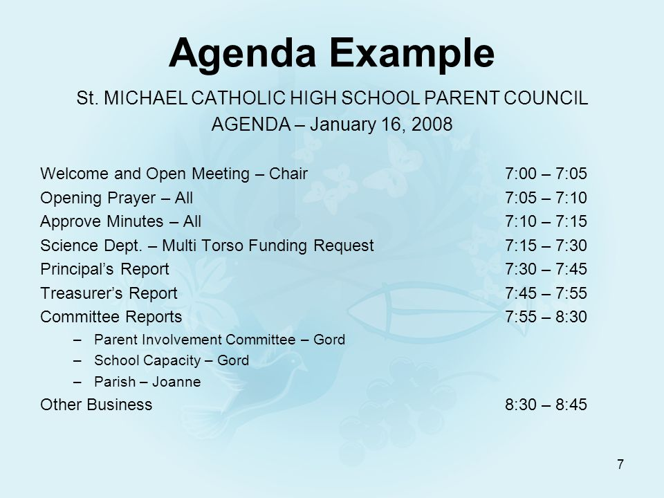 Running Effective Catholic School Council Meetings Gord Wyse Oct Ppt