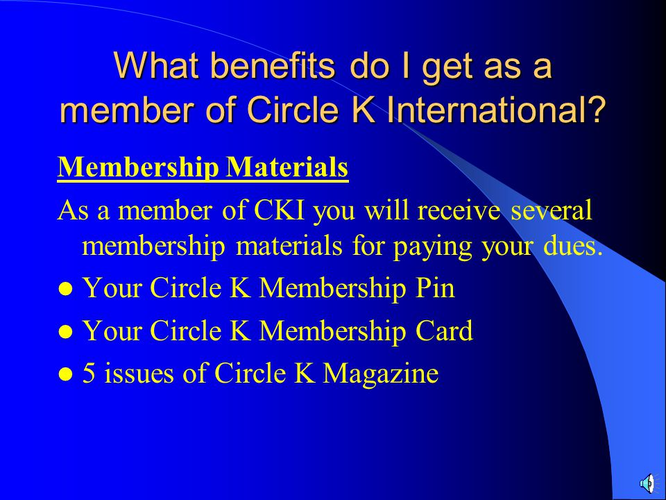 Capital District New Member Tutorial Dues and Membership Benefits