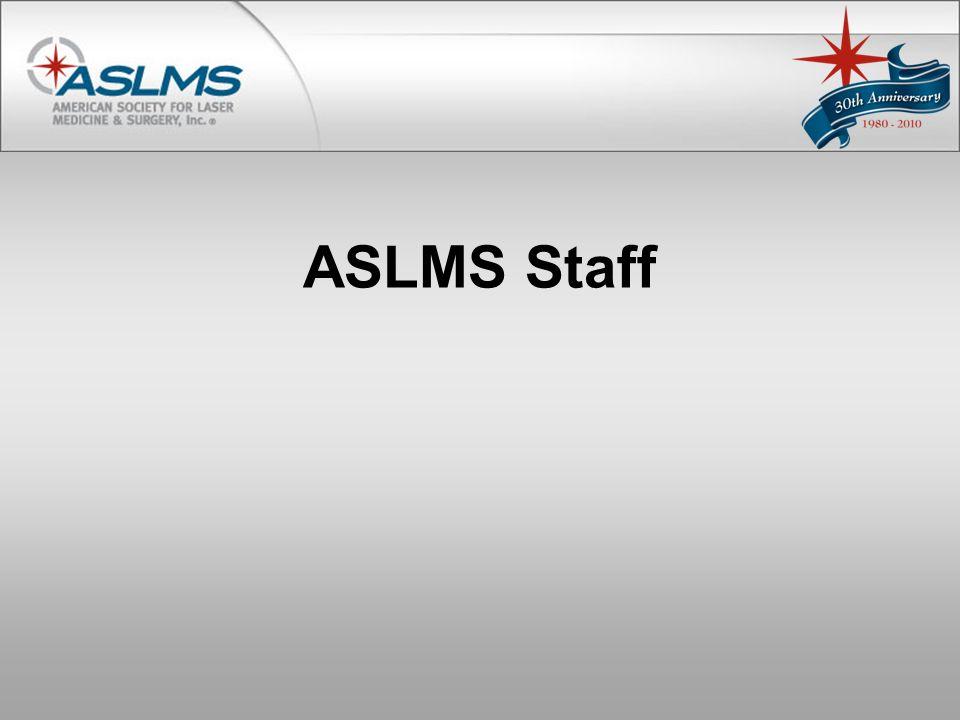 ASLMS Staff