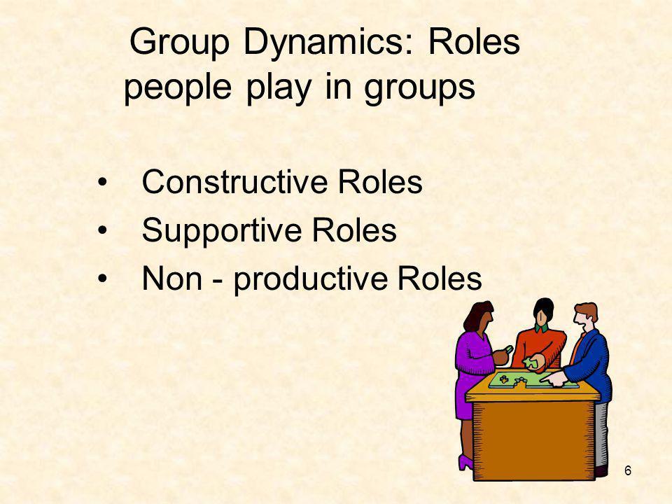 7 Constructive Roles