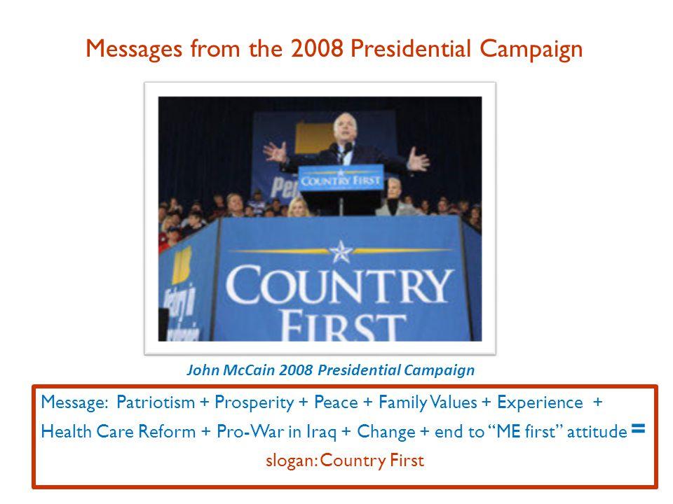 Hillary Clinton 2008 Campaign for Democratic Nomination Message: Improve U.S.