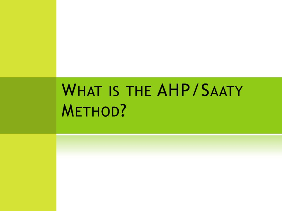 Goal is for Measurement to support AHP estimation EstimatePlan Monitor & Control Capitalize Measurement Process Use AHP DISTRIBUTIVE MANAGEMENT 24