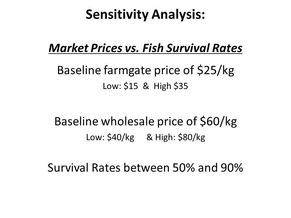 Sensitivity Analysis: Market Prices vs.