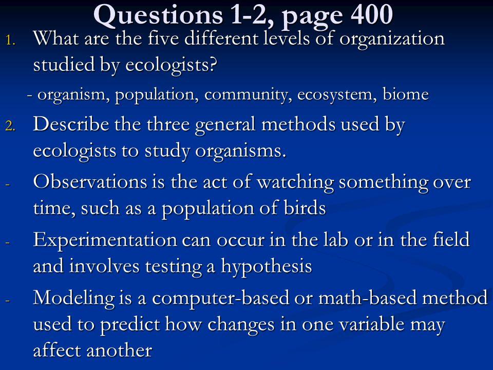 Questions 4 & 5 4.