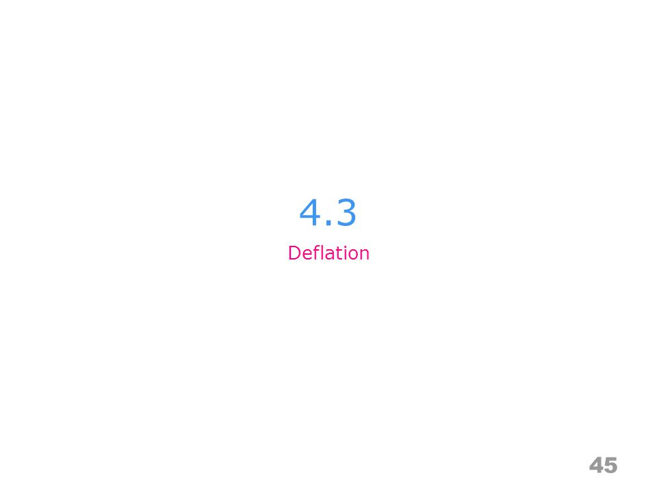 4.3 45 Deflation