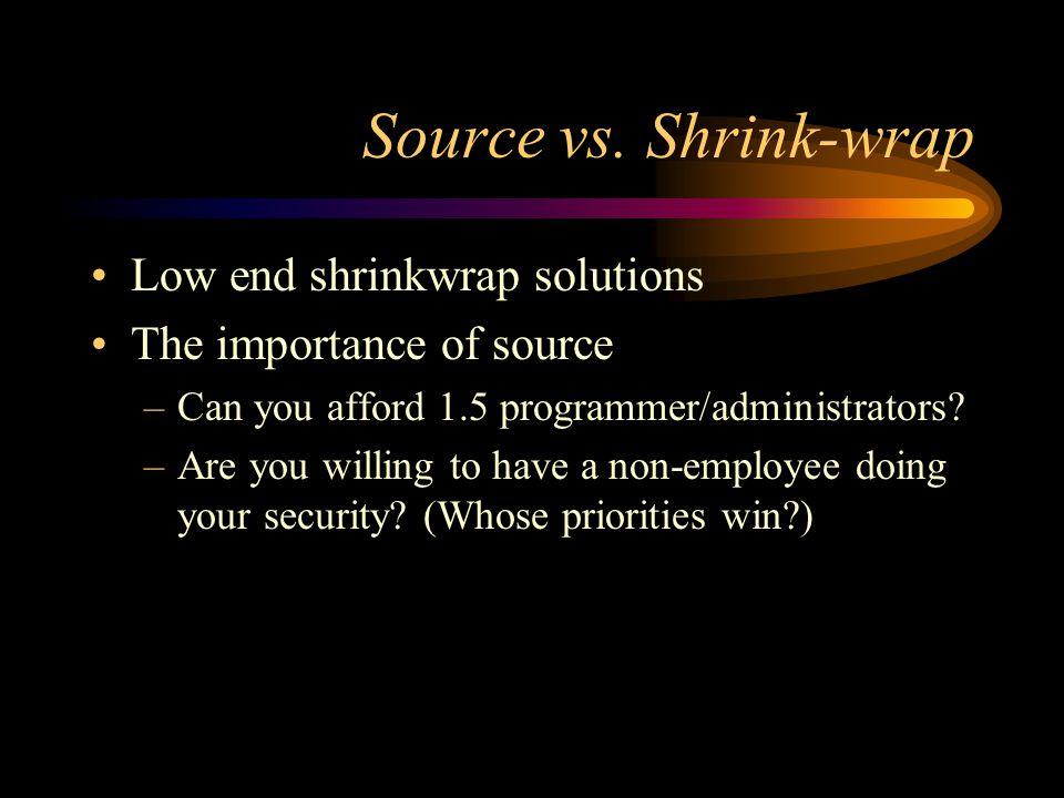 Source vs.