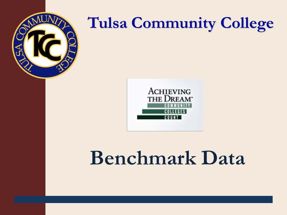Tulsa Community College Benchmark Data