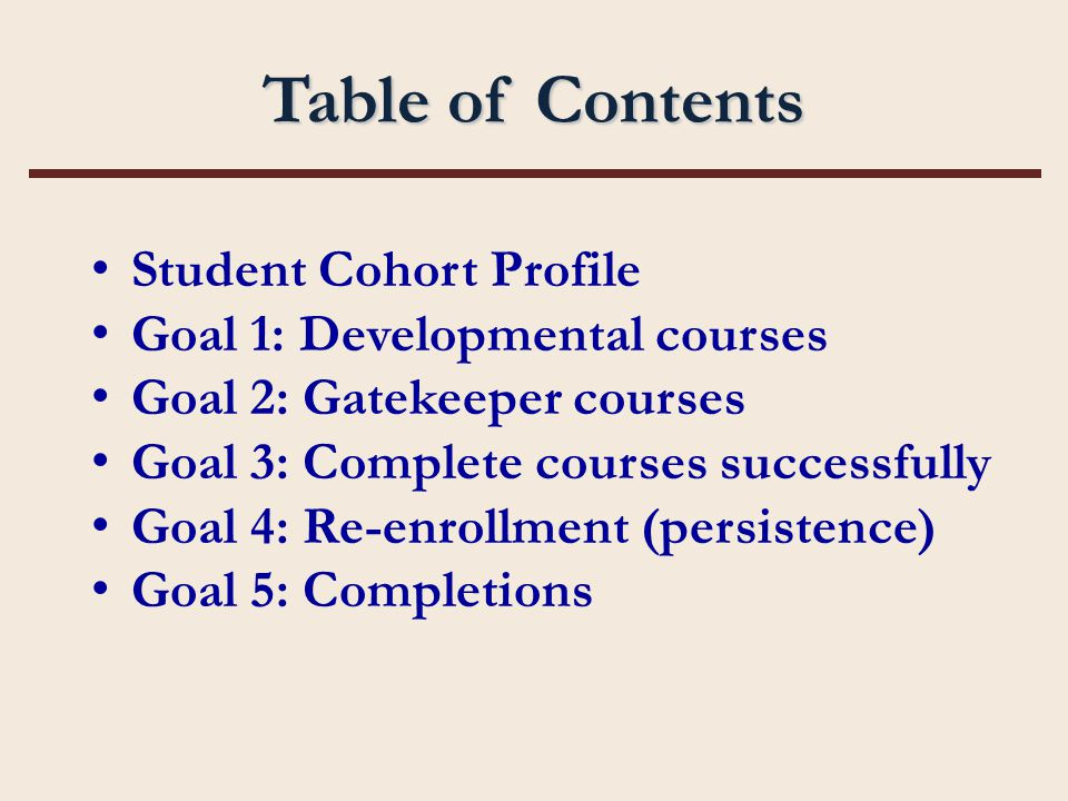TCC Cohort Profile Fall 2004 Cohort 1,972 First-time to TCC Students *includes students who withdrew after final add/drop date (All statistically significant differences are calculated at the 95% confidence level or higher.)