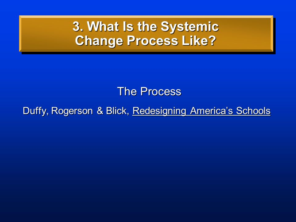 2. What Is Systems Thinking? Readings Senge, Schools that Learn Senge, Fifth Discipline