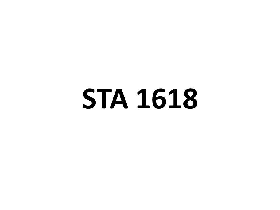 STA 1618