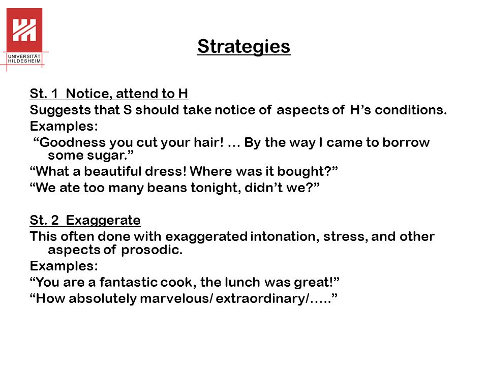 Strategies St.