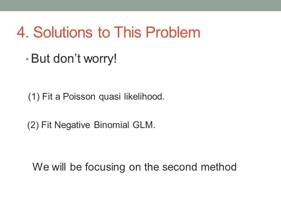 6.1 fit the Poisson model Poisson1 <- glm(daysabs ~ math + prog, family = poisson , data = students) summary(Poisson1 ) Call: glm(formula = daysabs ~ math + prog, family = poisson , data = students) Coefficients: Estimate Std.