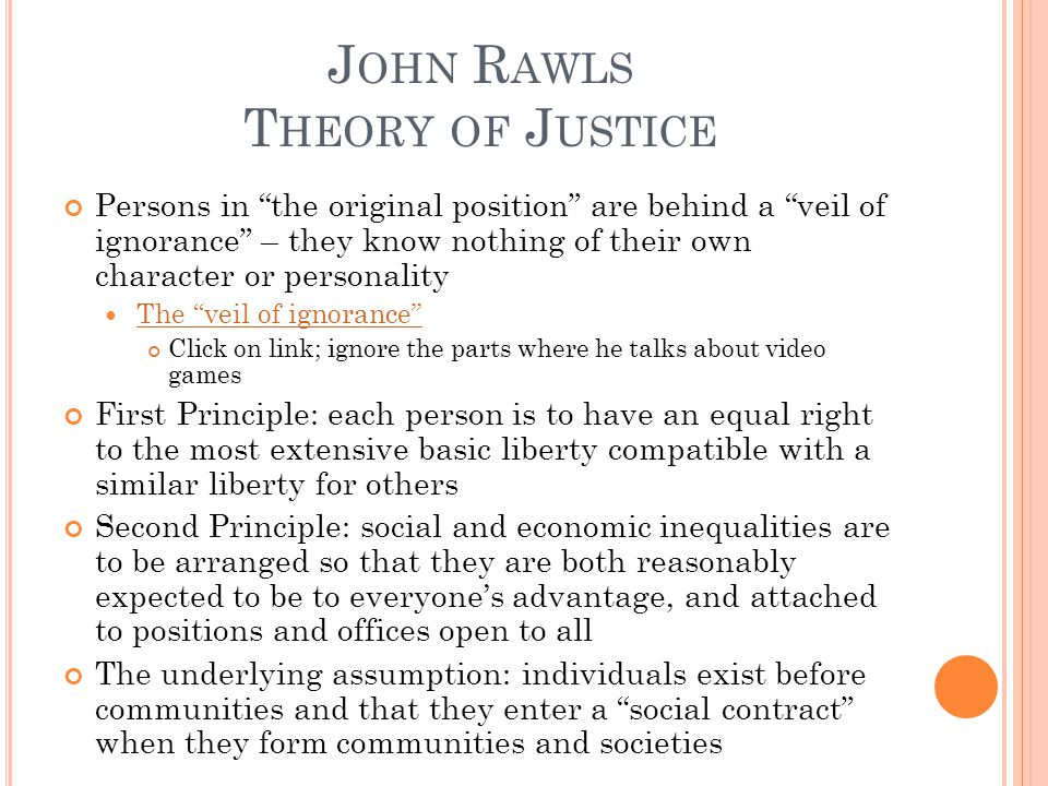 R IGHTS OF I NDIVIDUALS Certain rights are settled and not subject to political bargaining Products of negotiation or a consensus of beliefs Describe how certain ethical rules, customs, procedures arise from the moral life of communities Prescribe how we should think and act in building and critiquing moral communities RawlsCommunitarians