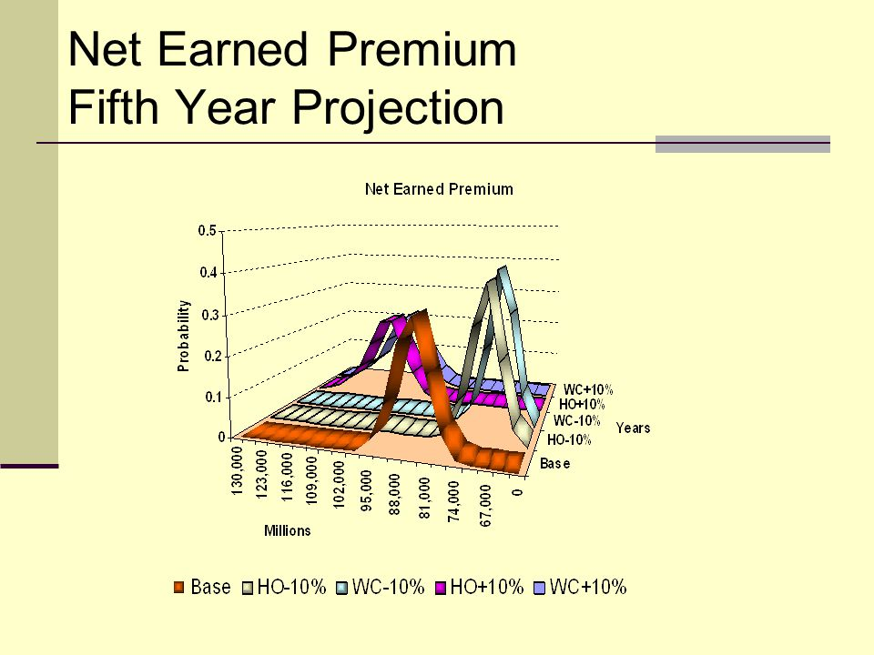 Net Earned Premium Fifth Year Projection