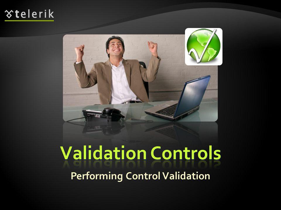 Performing Control Validation
