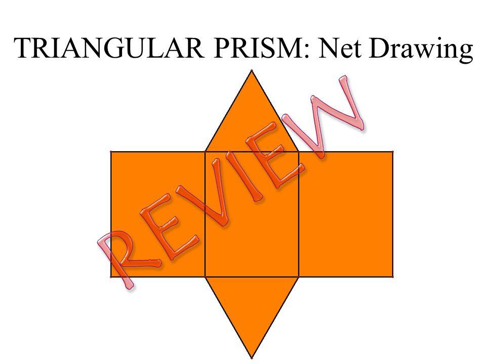 TRIANGULAR PRISM: 3-Dimensional Faces Edge Vertex