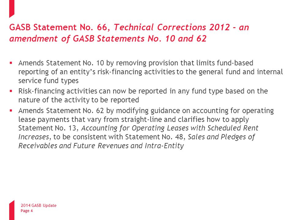 2014 GASB Update Page 5 Pension Accounting and Financial Reporting