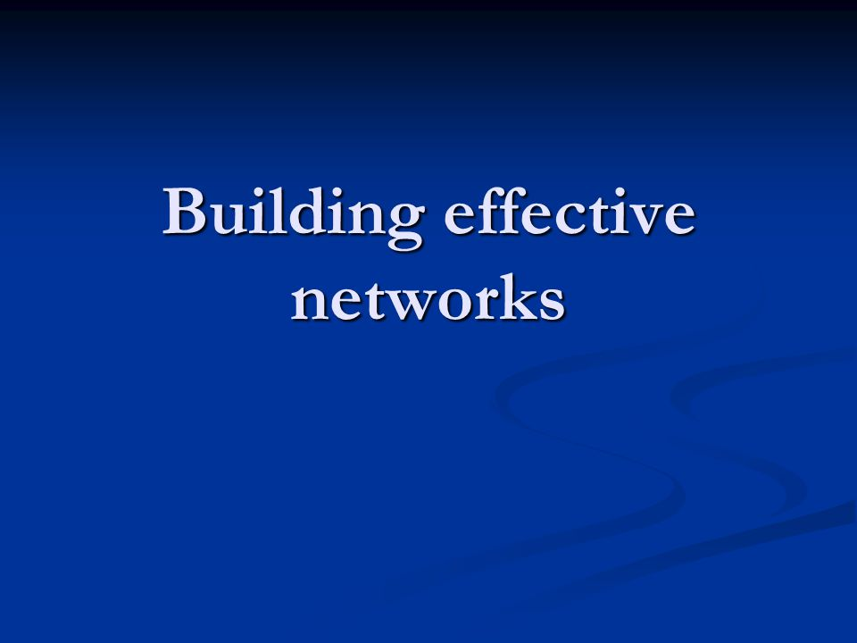In this session Consider the value of building networks with NGOs and other stakeholders.