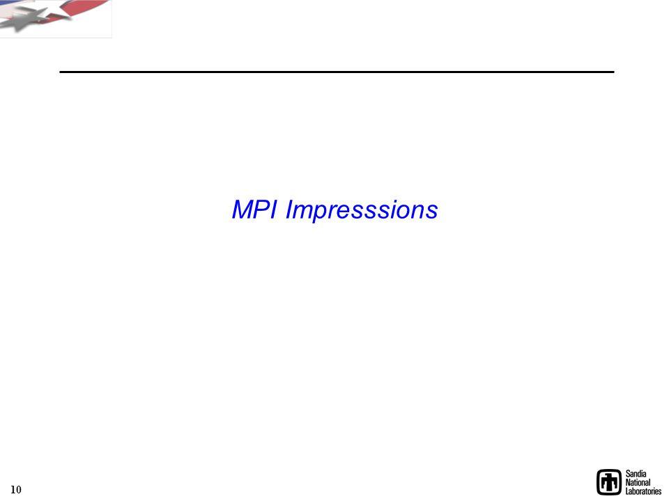 MPI Impresssions 10