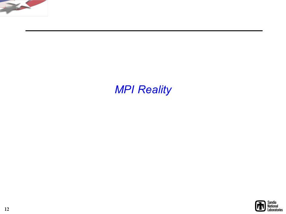 MPI Reality 12