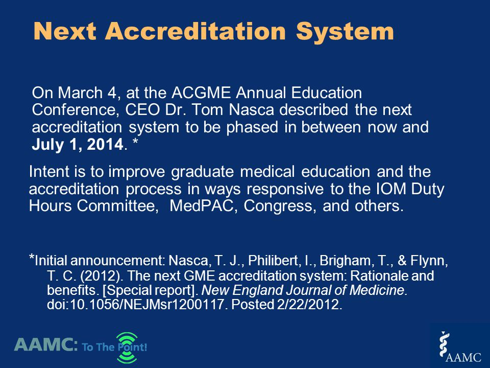 On March 4, at the ACGME Annual Education Conference, CEO Dr.