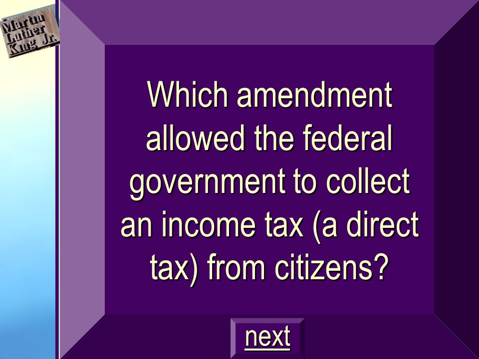 What are: Must be for the general welfare of the U.S. No taxes on exports $300