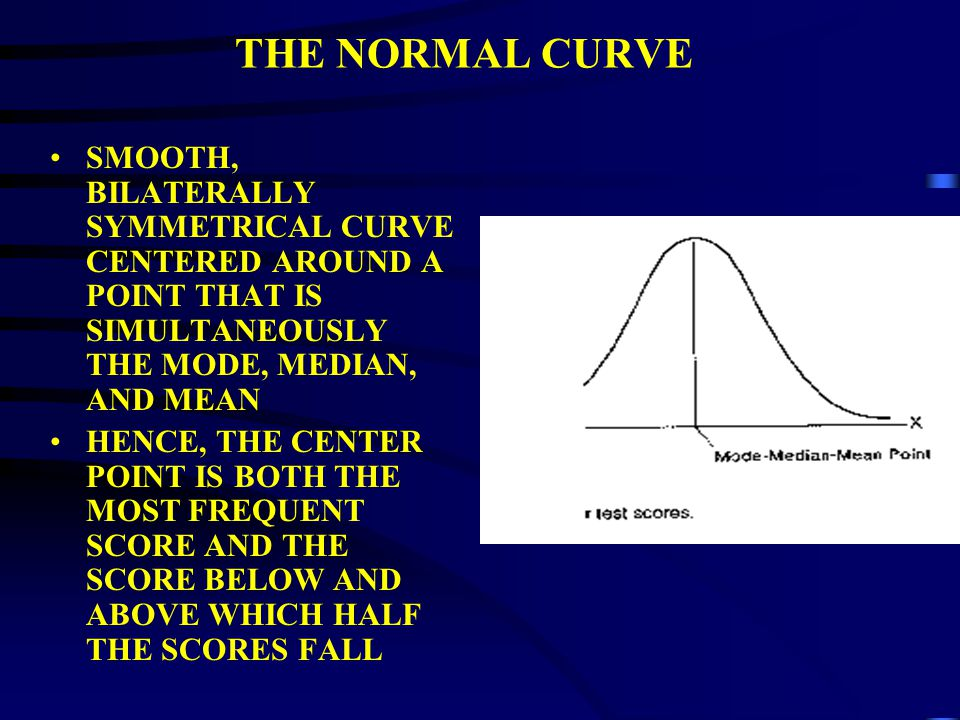 STATISTICAL TOOLS FOR EVALUATION THE NORMAL CURVE AND PROBABILITY