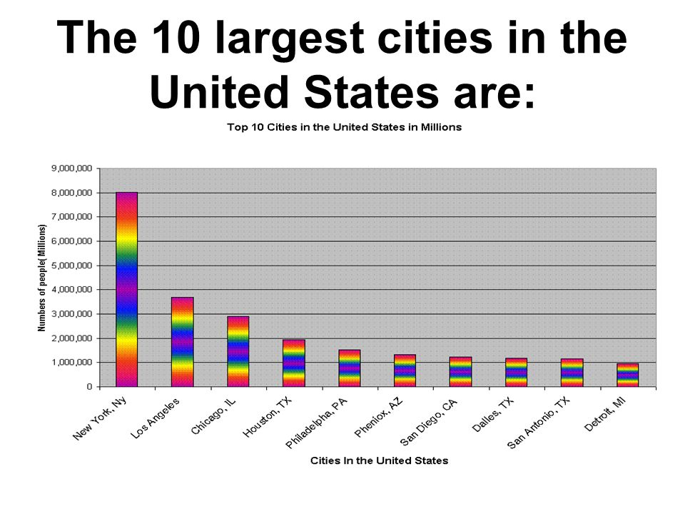 New York City is the largest city in the United States.