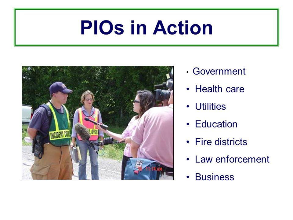 Joint Information Centers North Idaho College Kootenai Fire District CDA Public Library Idaho Transportation Dept.