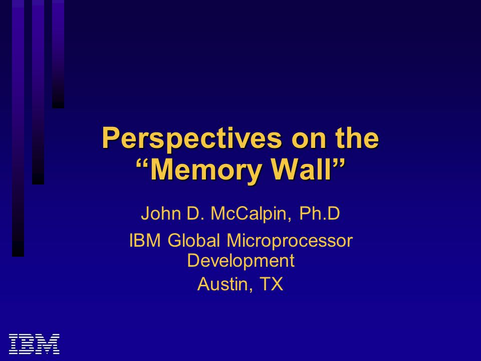 Responses: mid 1990's to present Focus on uniprocessors or small SMPs or MPPs for high-bandwidth workloads  IBM POWER2, P2SC  DEC DS20  Cray T3E For large SMPs: Distributed-directory-based, cache- coherent, distributed shared memory with non- uniform memory access latency  E.g., SGI Origin2000, Origin3000, Altix3000  HP Superdome  HP GS320, GS1280
