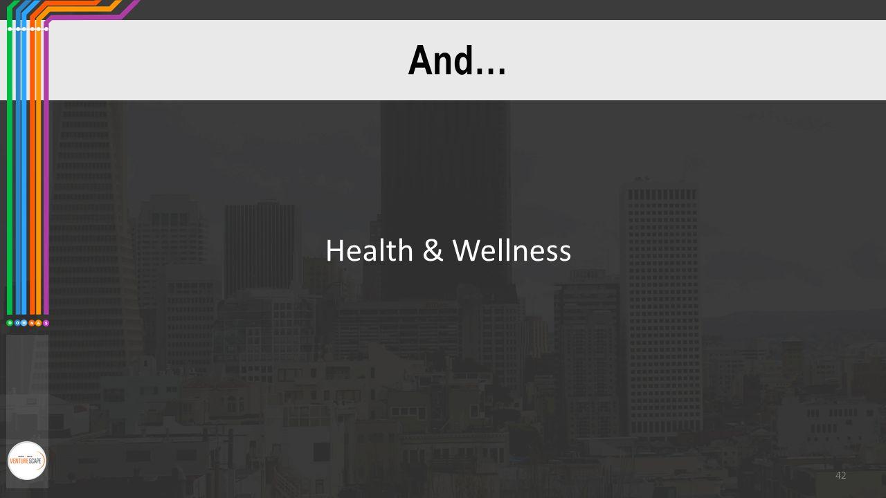 And… Health & Wellness 42