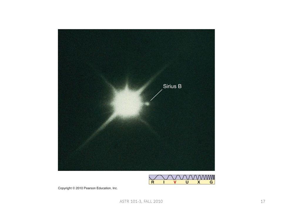 ASTR 101-3, FALL 201017
