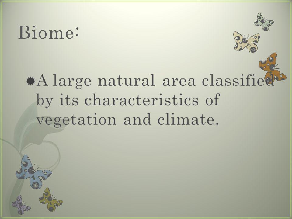 Biome: