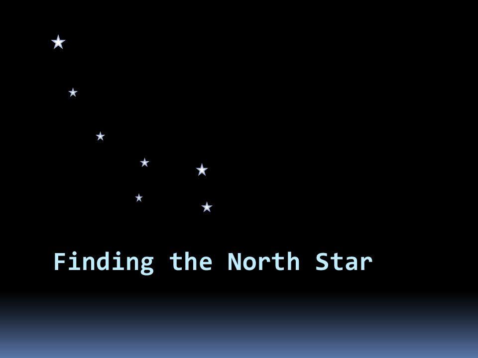 How do I find the North Star.