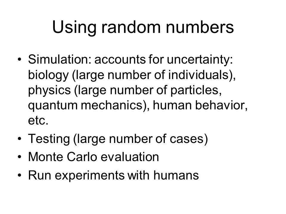Quick summary of some probability theory Discrete vs.