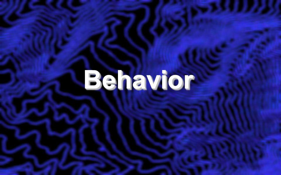 BehaviorBehavior