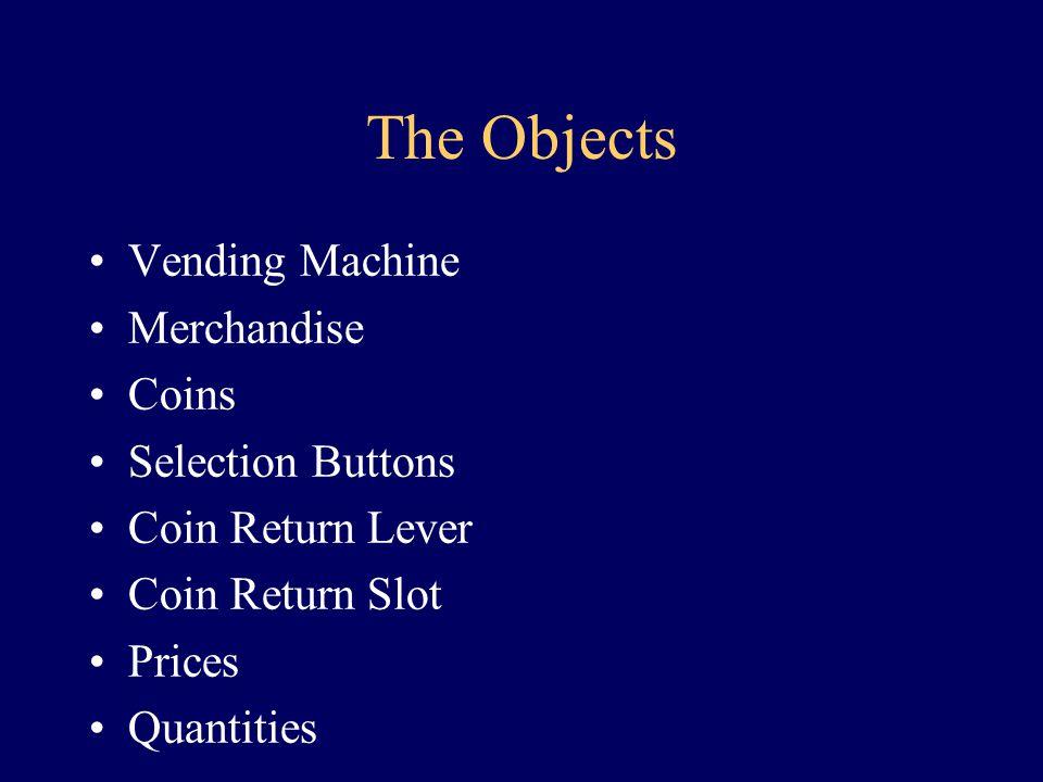 A Vending Machine
