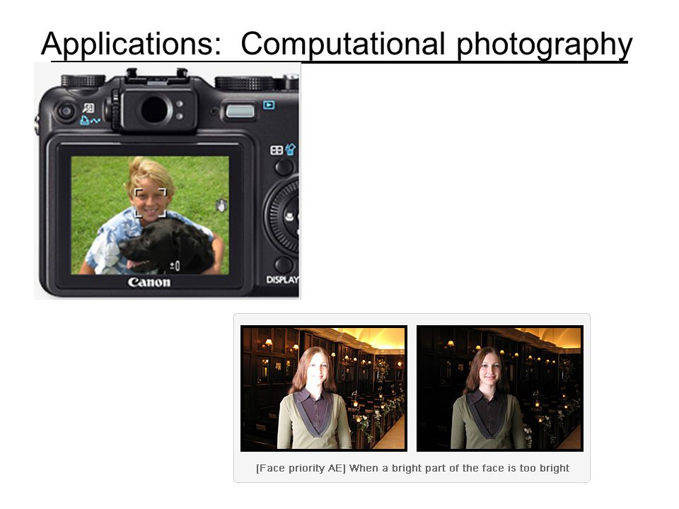 Applications: Computational photography