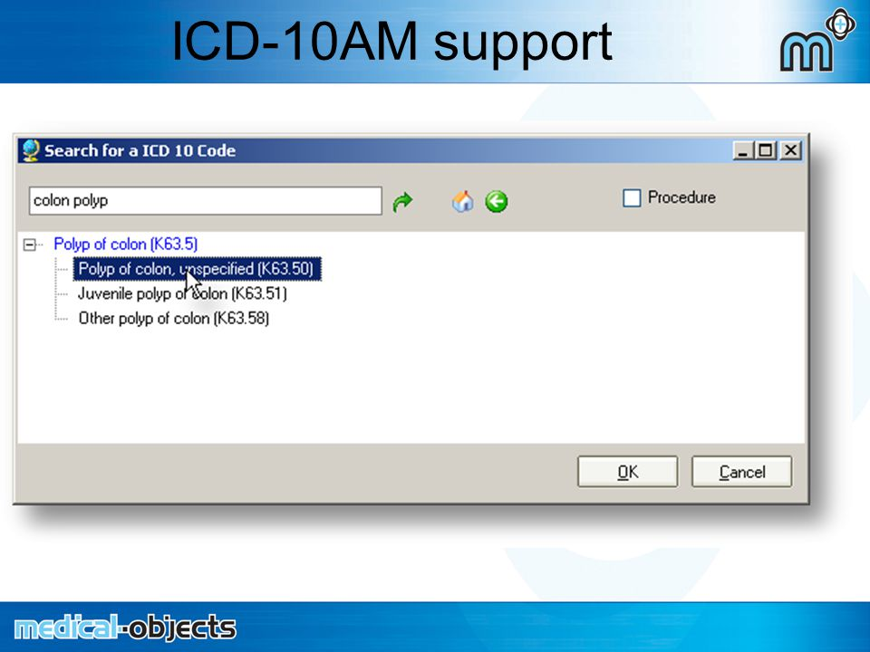 ICD-10AM support