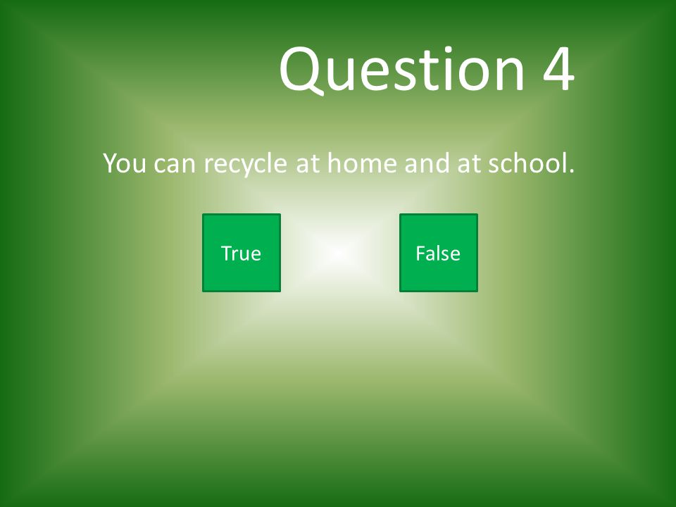 Question 3 Which of these items can be recycled.A.