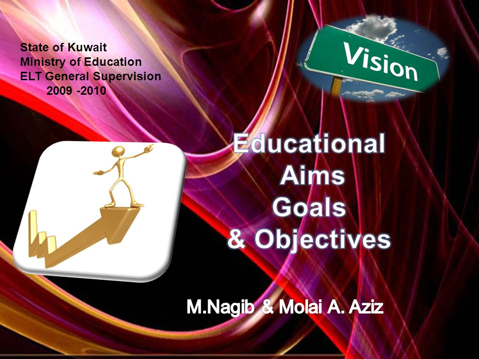 State of Kuwait Ministry of Education ELT General Supervision 2009 -2010